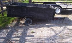 Compact trailer that needs little TLC., good lights and rubber with spare tire. Make me a offer.