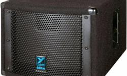 Hi. Up for sale is used complete Pa system in excellent condition. I bought for home karaoke most the time and rarely out to help community events. Package including 1 pair of NX12 speakers 200 w/ea. 1 pair of LS200P power sub woofers 200 w/ea. 1