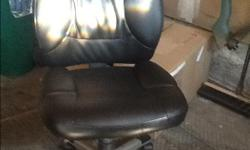 This is a computer chair in excellent condition. Adjust and is on wheels. Comes from smoke free and pet free home. Available now.