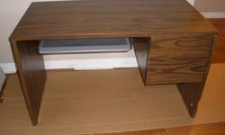 2 drawer computer desk for sale ($100) OR best offer - dimensions: 2ft (W) x 4ft (L) x 2.4 (H)   No delivery available - pick-up only. Make an offer!!