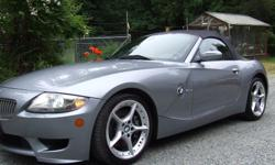 Make BMW Year 2006 Colour Silver kms 45000 Enjoy the summer in this excellent condition BMW Z 4 30 S I ,black leather interior. silver ext .6 speed manual .