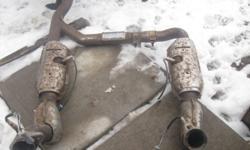 set of converter,s for a ford truck new oxgen sen best offer let me know 289-296-9241