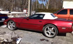Make Chevrolet Model Corvette Year 1987 Colour red kms 107300 Trans Automatic Paint 2012 g2 red, new brakes, fuel pump, fuel relay, battery tires. Spare rear tires .....