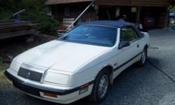 Make Chrysler Trans Automatic beautiful car mint interior new $800 top michilen tires no rust was daily driver until it started TO ACT UP STARTS UP RUNS GOOD THEN DIES KEEPS DOING it but wont keep running . put in new fuel pump and filter, and coil and