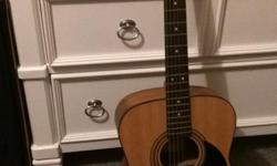Cort Acoustic Guitar for sale. Model AF510. Text or call 715-8658. Can meet anywhere within the cowichan valley.
