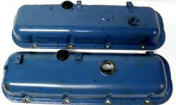 Corvette Chevelle Camaro Nova 454 BB Chevy Valve Covers pick-up Truck Factory Chevrolet GM original big block 454 blue steel valve covers from the late seventies In very clean condition No dents.. No rust also come with oil cap not shown in the pictures