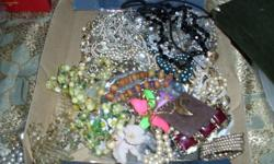 By the box or by the piece if you are using costume jewelry to redesign your own pieces then I may have what you want or need for that special piece.