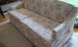 Formal couch and chair in excellent condition. Willing to sell individually. -3 seat couch $150 -Large chair $50 Non-smoking home, no pets