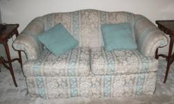 Couch and loveseat for sale.  Renovating so I need it gone asap.  Thanks