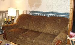 Couch Is in good shape bought at the Brick two years ago, was $ 1000 selling for $200 obo. PH# 403-581-7857