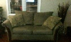 2 piece sage green couch and love seat for sale. 2 yrs old and in good condition. This ad was posted with the Kijiji Classifieds app.