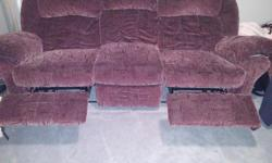 In excellent condition No rips or tears Basically just sat in the basement without being used Pick up only - NO DELIVERY $500.00 firm Email or text with questions Color is Burgandy