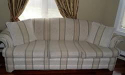 3 couches, 1 three seater, a 2 seater and a single seater. All in great condition, no rips, very clean please contact me if interested by email or call 905-353-7273