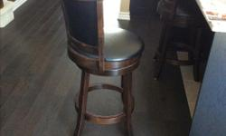 Great condition. Includes 2 stools.