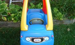 Drives well, no fading. Solid toys that last forever, good for indoors as well as outdoors.
