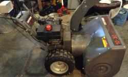 CRAFTSMAN 10HP 30 INCH SNOWBLOWER - electric start, good shape $850.00 OBO.