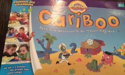 Cranium French Version magical treasure hunt game expanded edition beginner advanced. Great educational game for child development. Age 3+, 2-4 players. Rounds of Cariboo last about 10-15 mins. great for young attention spans. Kids learn by matching
