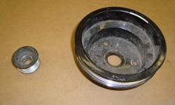 aluminum pulleys small block chevy