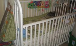 I am selling a crib and matress, if you are interested please contact me, need it gone asap as I am moving.