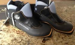 Salomon Cross-Country Ski Boots, tags still on. Size 7.5 US; original price $199.