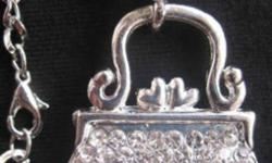 Pendant Size: 1.50 inches X 1.38 inches The length of the chain: about 26 inches  New.