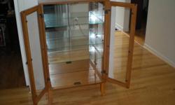 3 shelf Curio - In GREAT shape Asking $95.00 or best offer
