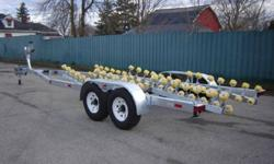 CUSTOM BUILT CROWN BOAT TRAILERS                                 Trailerworld manufactures custom boat trailers specific to your needs. We build tandem and tri-axel trailers built to spec! (single axel not available) Call and let us know what you?re