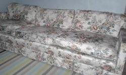 EXCELLENT CONDITION, VERY CLEAN LARGE CUSTOM MADE 8 FEET LONG SOFA FOR 120 TO BIG FOR MY APARTMENT
