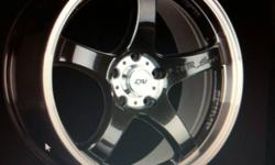 These rims are like new not one mark on them. They were bought in augest and i have the receipt. I paid over $1000 and only put 500km on them because my car sat at dominion all summer. Make me an offer... I am also open to trades for other wheels like