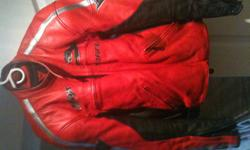DAINESE MOTORCYCLE JACKET 100% REAL ITALIAN LEATHER