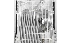 """Danby® Designer DDW1899WP, Portable Dishwasher, Apartment Dishwasher, 18 Inch Wide, Comes with quick connect to kitchen sink and weels, White color.   Danby® Designer 18"""" Portable Dishwasher, DDW1899WP Full Console Portable Dishwasher with 5 Wash Cycles,"""