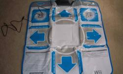 I have Dance Dance Revolution Hottest Party 2 for the Nintendo Wii. Comes with the dance mat. Used only once.