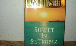 Danielle Steel hardcover novels--$10.00 each