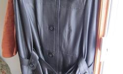 bought and never wore, beautiful jacket but does not fit in my shoulder area, paid over 550.