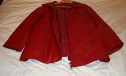 Womens Danier Leather Jacket Removable inner liner Jordan 519-420-8900