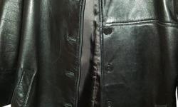 Women's Leather Jacket like new, size 8/10