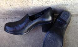 Lovely Dansco shoes-- I love these shoes but my feet have grown & they don't fit anymore. Shoes with higher heels size 39 (size 8) Shoes like clogs size 38 (size 7 1/2) Both pairs in good shape. Open to offers but would like $20 per pair.
