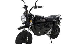 DAYMAK REBEL LITHIUM $2100.00 plus HST Ride in style and go against the norm on the brand new Daymak Rebel. This mini ebike packs quite a punch for its size. The Rebel comes with a 60V 20ah lithium battery pack that provides up to 40 km range, and with