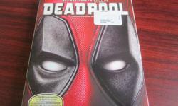 deadpool blu-ray + dvd + digital hd in good condition