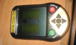 It still works perfectly, it does not need a charger just batterys and theirs no scrathes on it except on the back but their not noticable. Please e-mail me if your intrested.