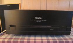 For sale one Denon POA 2200 power amp . this amp is being sold as is .This amp does function well ,but does have some sort of issue . I have had this amp for about 5 years and it has been very reliable , it puts out lots of clean power and sounds ,great