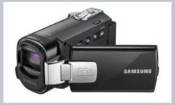 digital camcorder Samsung F40 Ultra Zoom in boxw warranty-$139.99 65x Intelli-Zoom/52x Optical Zoom --Long Battery Life (4Hr 20Min) --Time Lapse recording --IntelliStudio 2/0 (Built In PC Software) --Animated Thumbnail   sony digital camcorder-hd mhs-pm1