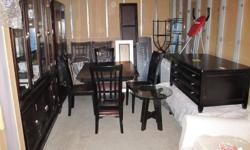 I have the following brand new items that I bought and never used:   1 large china cabinet Candle holders 2 dishwashers, 1 full size white, 1 condo size stainless 1 - 3 drawer cabinets/table 1 - 2 drawer cabinet 1 Large wood/leather room divider   Used