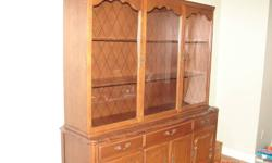 Fitton Parker Hutch & Cabinet, built in Southampton, Ontario in 1967.  Good quality and well built.  We have just relocated and have to downsize.  I also have the table and chairs that I might sell if interested.
