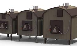 Polar outdoor wood burning furnaces. Traditional updraft and EPA Phase 2 certified downdraft gasification units. Many models to choose from. All CSA approved. No concrete pad required!! All of our furnaces are Canadian made with ASME SA 516 quarter inch