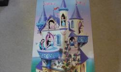 """Disney Art prints """"Princess Collage"""" ~ Wall Poster Paper Size: 22"""" x 34"""" Has a very tiny tear on the side... not noticeable. Located in Barrhaven"""