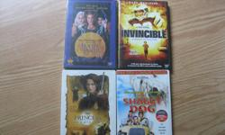 DISNEY DVDS Brand New and Unopened - Disneys HOCUS POCUS Disneys Princess of Thieves Disneys Invincible Disneys The Shaggy Dog $10 each OR get ALL 4 for ONLY $25 (works out to be $6.25 per dvd) Can meet in west end of ottawa (kanata) or pickup in