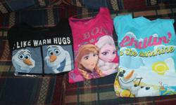 frozen t-shirts size 12 pick up in Barrhaven pet/smoke free home