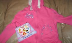 DISNEY Princess Hoodie Size 5T Pink in color AND including a PRINCESS Friends Stationary Purse with all your princess friends!! Get for ONLY $10 Can meet in west end of ottawa (kanata) or pickup in Constance Bay