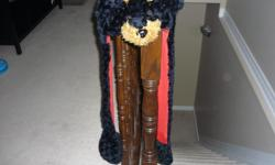 "Dog Animal Hat - with Ear Flaps and Hand Pockets Made by ""Little Art"" Like new Located in Barrhaven"